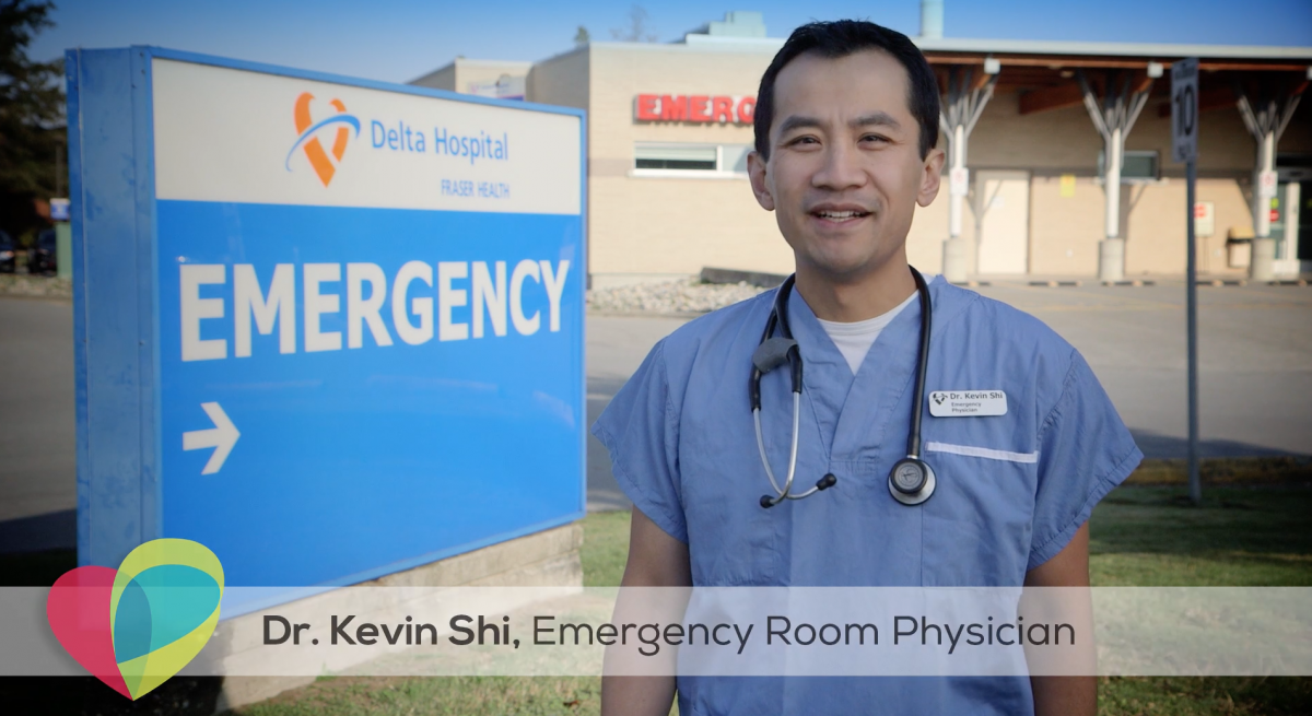 Dr. Kevin Shi, Emergency Room Physician