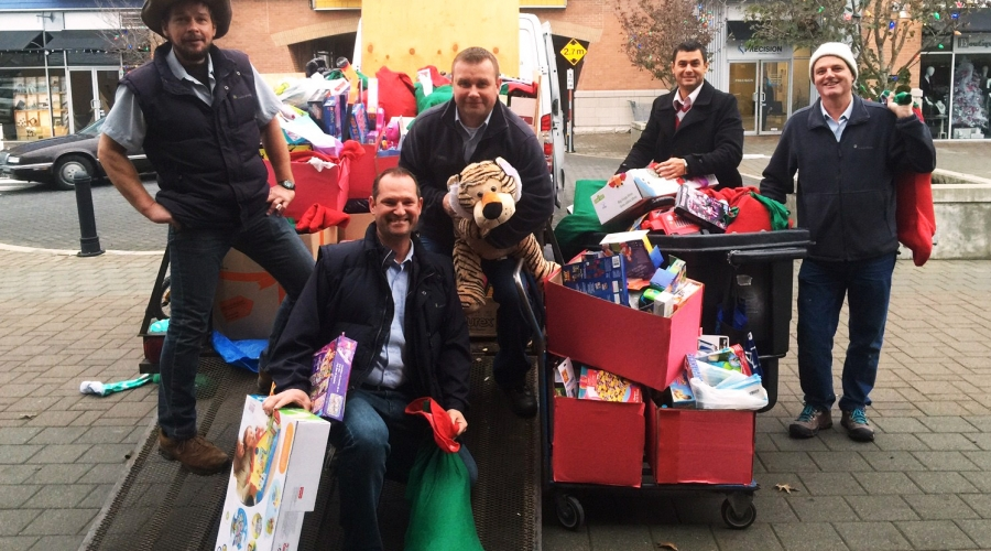 Three Truckloads of Toys Donated Through 'Stockings for Kids'