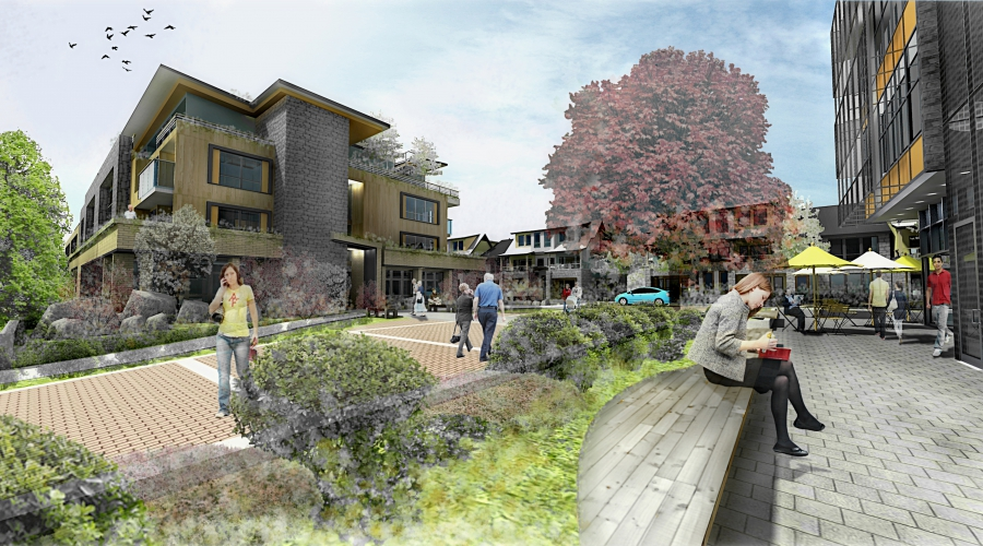 Northgate mixed-use community in Tsawwassen