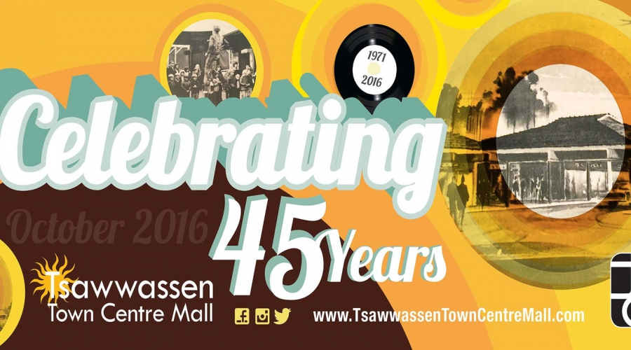 Tsawwassen Town Centre Mall 45 Years